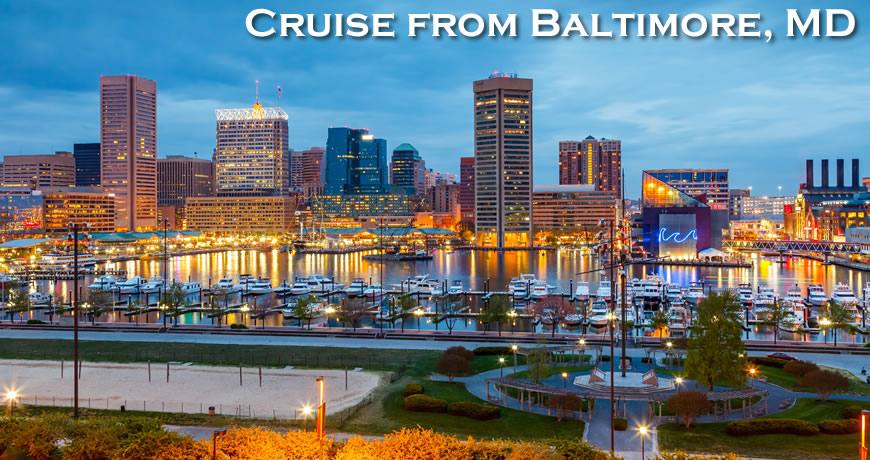 Last Minute Cruises from Baltimore MD