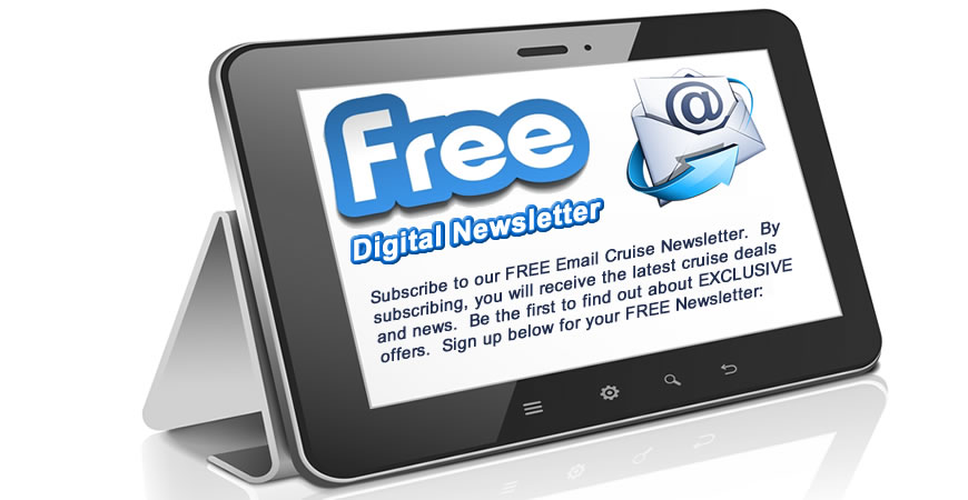 email cruise newsletter subscribe for the top cruise deals