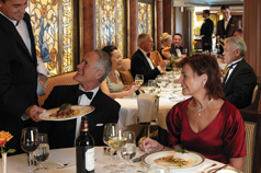 Dining on a Cunard Cruise Ship