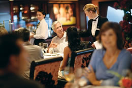 Cagneys Steakhouse on the Norwegian Jewel