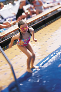 Swimming on a Carnival Cruise
