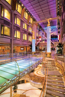 Royal Promenade on Freedom of the Seas