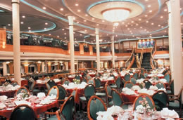 Main Dining Room on Grandeur of the Seas
