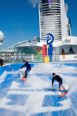 Surfing on Freedom of the Seas