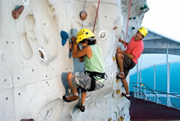 Royal Caribbean Rock Climbing