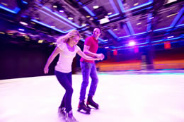 Royal Caribbean Ice Skating