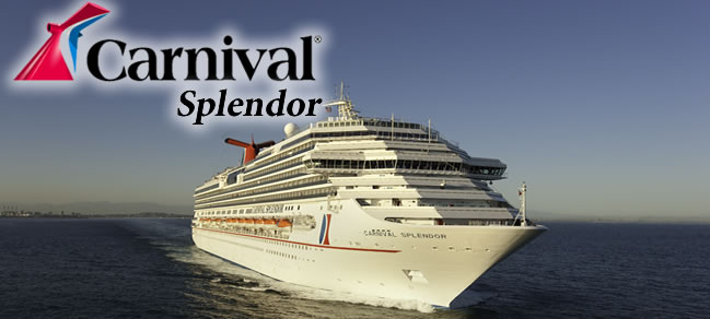 Carnival Splendor Carnival Cruise Ship