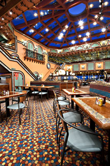 Dining Room on the Carnival Victory