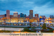 Cruises from Baltimore, MD