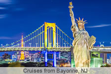 Cruises from Bayonne, NJ