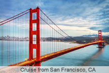 Cruise from San Francisco, CA