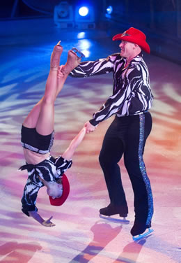 Ice Skating Shows on Explorer of the Seas