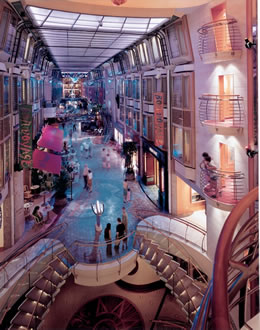 Royal Promenade on Explorer of the Seas