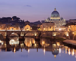 Visit Rome on a Mediterranean Cruise