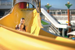 Norwegian Cruise Line Water Slide