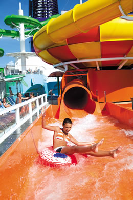 Norwegian Cruise Waterpark