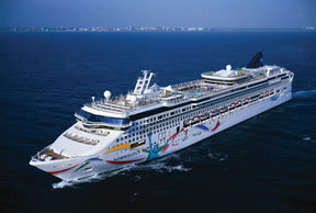 Norwegian Cruise Line sailing from New Orleans