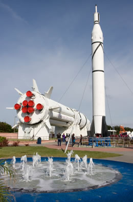 Kennedy Space Center in Port Canaveral, Florida