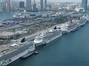 Popular Cruise Departure Ports
