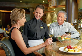 Dining Choices on Princess Cruises