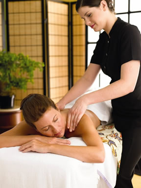 Pamper yourself at the spa on the Sun Princess cruise.