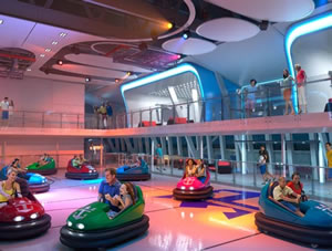 Bumper Cars on Quantum of the Seas