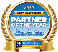 Royal Caribbean 2010 Partner of the Year