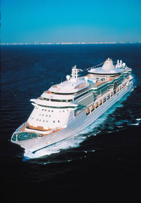 Royal Caribbean cruise ship from San Juan, Puerto Rico