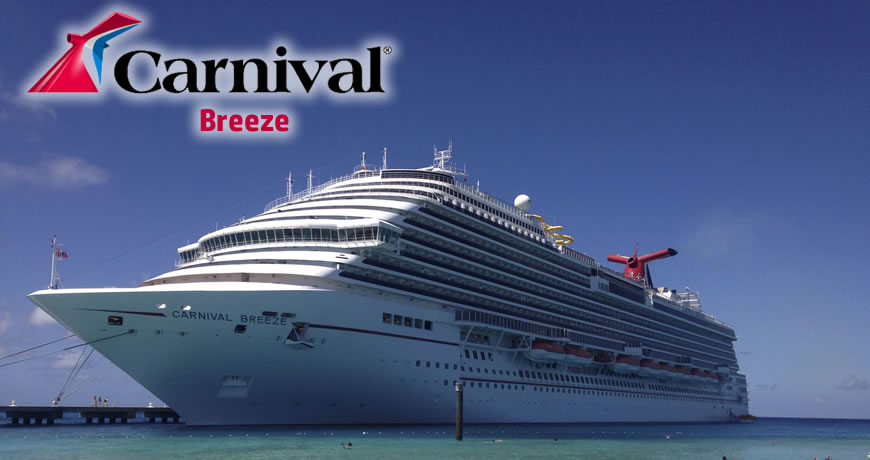 Carnival Breeze Carnival Cruise Ship