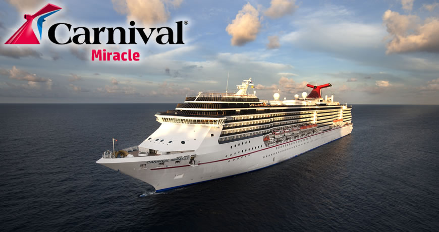 Carnival Miracle Carnival Cruise Ship