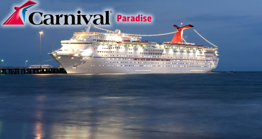 Carnival Paradise Carnival Cruise Ship
