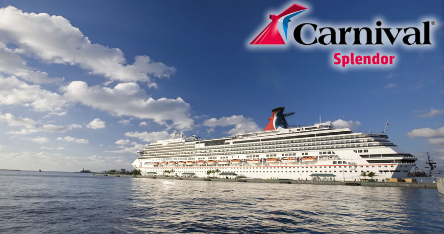 Carnival Splendor Carnival Cruise Ship
