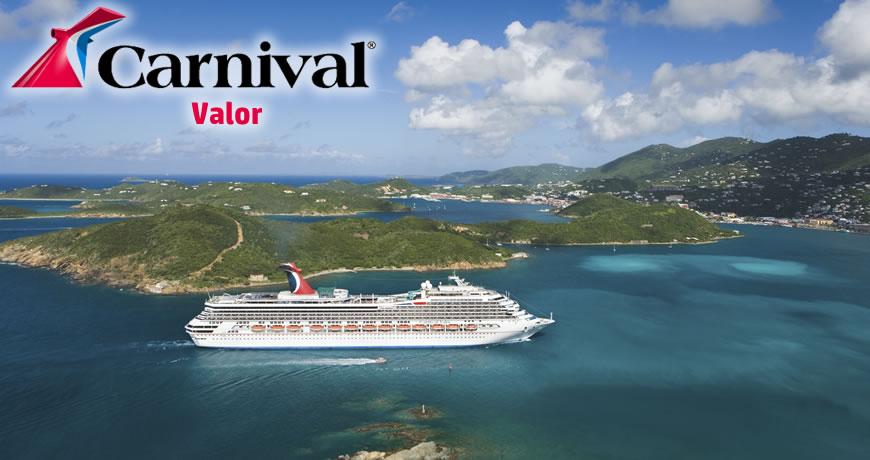 Carnival Valor Carnival Cruise Ship - Valor cruise ship