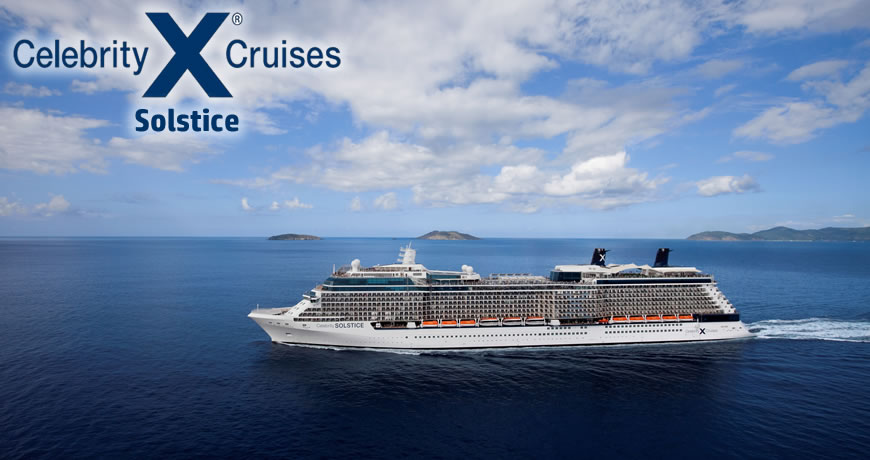 Celebrity cruise lines solstice class ships