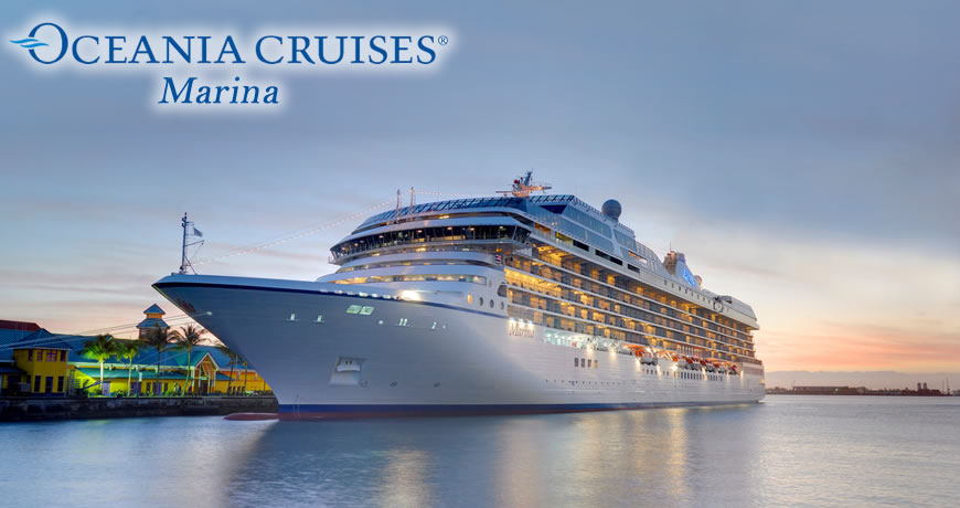 Oceania Marina Cruise Ship | Cruises on Oceania Marina