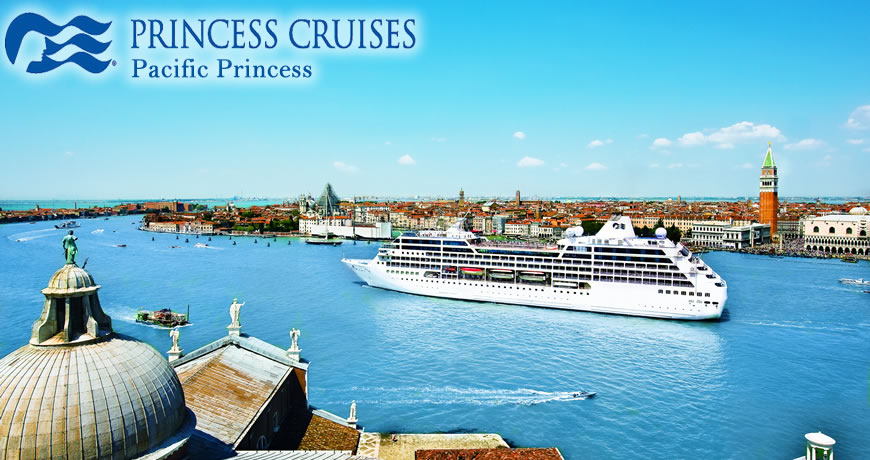 Pacific Princess Cruise Ship Features Pacific Princess