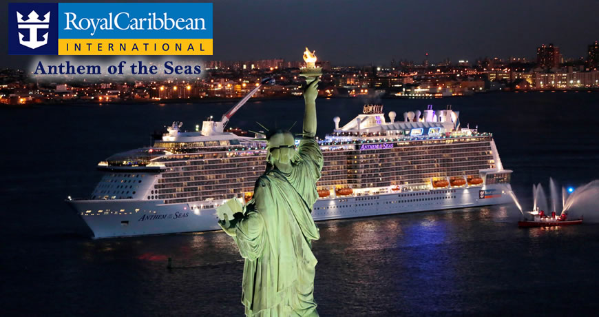 Anthem Of The Seas Cruise Royal Caribbean Anthem Of The