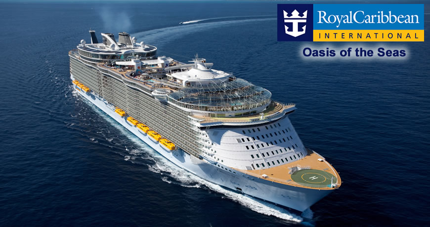 Oasis Of The Seas Royal Caribbean Cruise Ship