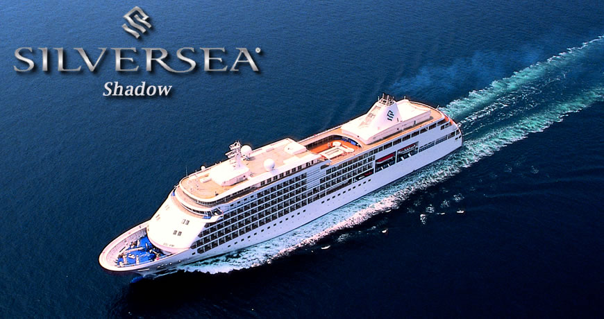 Silver Shadow Cruises Silversea Silver Shadow Cruise Ship - Silver shadow cruise ship itinerary