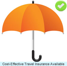 Travel Insurance included with cruises 5-nights or longer.