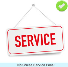 No Cruise Service Fees